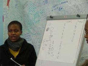 Pedagogy of Action's HIV module presentation