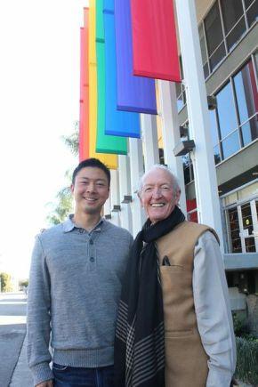 Jeff & Herb at Point's Los Angeles Regional Leadership Forum