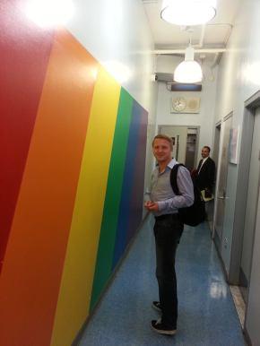 Taras Karasiichuk, President of Ukraine Gay Alliance