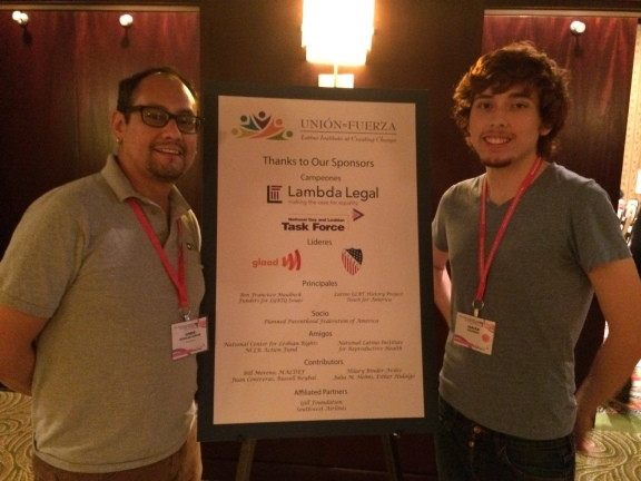 Chris Garcia & Isaias Guzman at Latino Institute