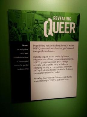 Revealing Queer Exhibit