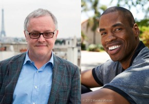 Dr. Neal Baer and Jason Collins